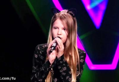 صدای زیبای این دختر در برنامه The Voice Kids 2018