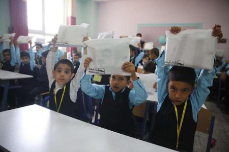 سال تحصیلی جدید در مدارس امید آغاز شد
