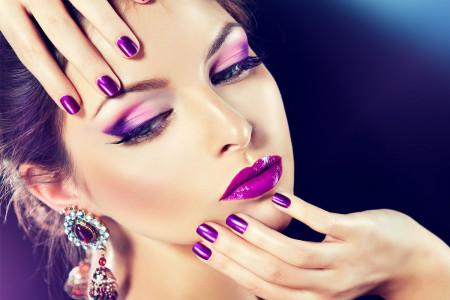 مدل زیبا از میکاپ و آرایش صورت عروس ایرانی