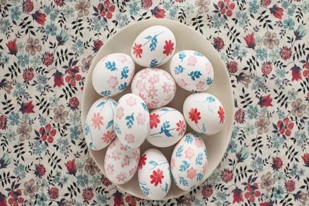 تزیین تخم مرغ با هنر دکوپاژ / دکوپاژ تخم مرغ