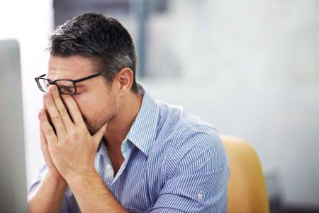 استرس، خستگی چشمها را بهدنبال دارد
