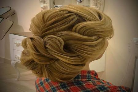 گالری از زیباترین مدل شینیون موهای مجلسی