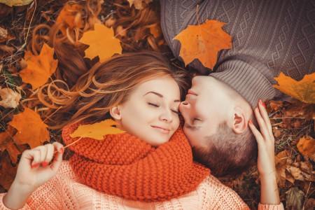 50 عکس جدید و با کیفیت عاشقانه دونفره پائیزی