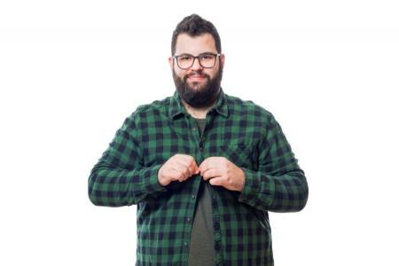 19 نکته طلایی که در پوشش مردان چاق باید رعایت شود