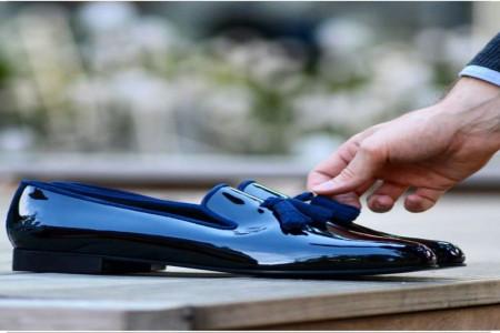 مدل کفش مجلسی مردانه چرم با استایل های مختلف ((کفش مجلسی))