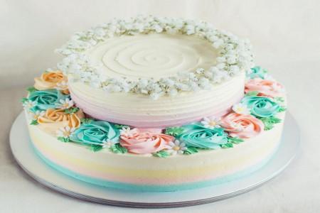 تزیین کیک تولد | مدل کیک تولد ویژه متولدین مهر ماه + تصویر