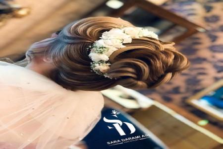 شینیون عروس ۲۰۱۹ شلخته و ساده با متدهای اروپایی