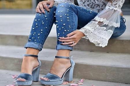 کفش پاشنه بلند مجلسی 98 زنانه و دخترانه بسیار جذاب