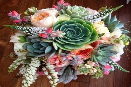 مدل دسته گل عروس 2020 | عکس هایی از دسته گل عروس برای عقد جدید