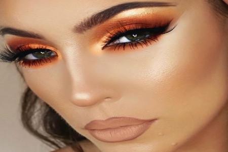 مدل سایه چشم هایلایت زیبا برای انواع صورت های گرد و کشیده