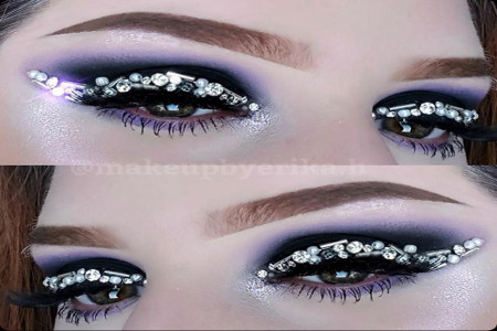 مدل سایه چشم جدید و شیک با آرایش های شیک و جذاب (30 عکس)