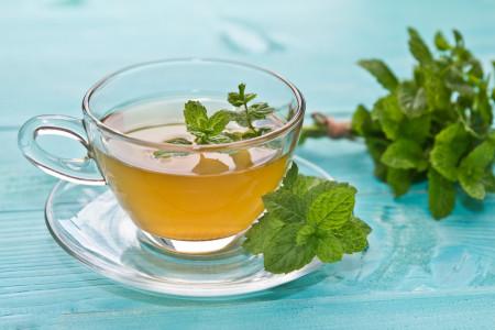 طرز تهیه چای نعناع تازه در خانه