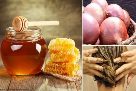 خواص شگفت انگیز آب یا عصاره پیاز برای رشد سریع مو