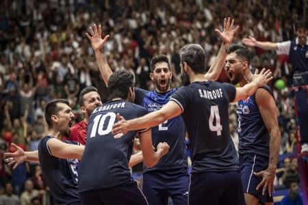 درگیری در پایان دیدار والیبال ایران و استرالیا + فیلم