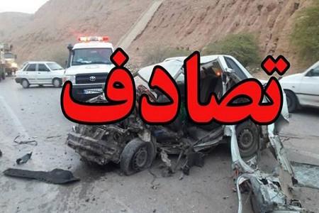 2 فوتی و 10 مصدوم در تصادف مینیبوس اردوی دانشآموزی در یزد