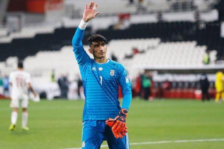 بیرانوند: خداحافظ فوتبال ایران !
