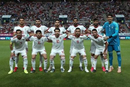فوتبال ایران در رده بندی فیفا