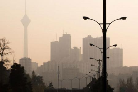 آلودگی هوای تهران امروز دوشنبه