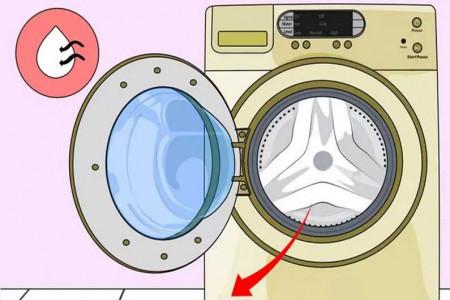 جرم گیری و از بین بردن بوی بد ماشین لباس شویی