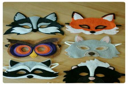 ساخت ماسک حیوانات