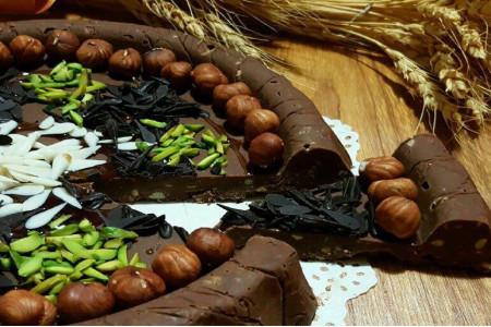 طرز تهیه حلوای شکلاتی مجلسی مرحله به مرحله