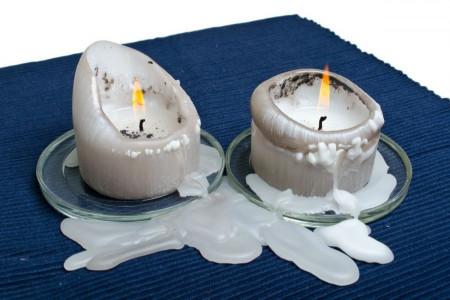 چند روش کاربردی و مناسب برای زدودن لکه شمع