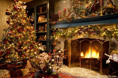 تزیین درخت کریسمس زیبا و جدید