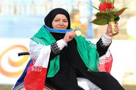 بیوگرافی راضیه شیرمحمدی کماندار پارالمپیکی ایران