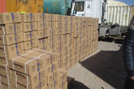 کشف 380 میلیاردی انواع کالای قاچاق در مازندران