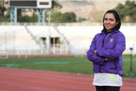 سریعترین بانوی دونده ایران لژیونر شد