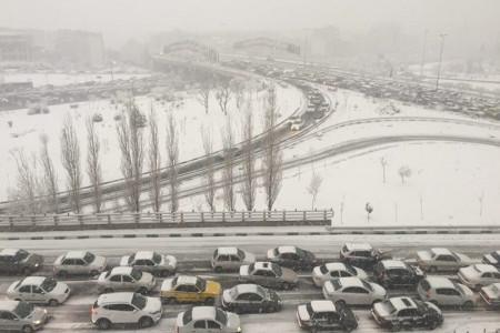 بارش برف تهران کی تمام میشود ؟