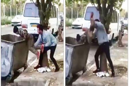 پیدا شدن کودک زباله گرد آزار دیده!