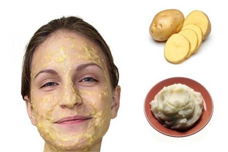 10 نمونه ماسک سیب زمینی برای درخشندگی پوست