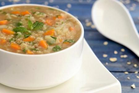 میزان کالری و ارزش غذایی انواع سوپ جو + طرز تهیه