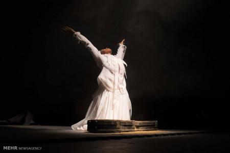 تصاویر نمایش رقص مرگ بی لالا