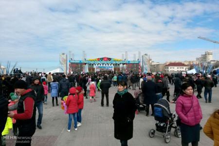 تصاویر جشن نوروز در قزاقستان