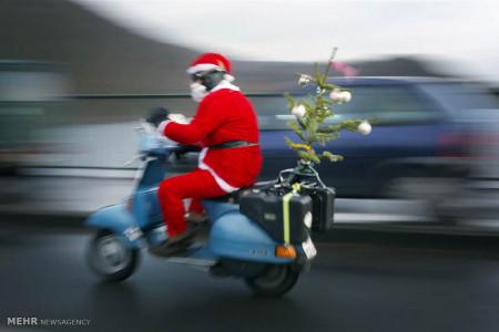 تصاویر جشن کریسمس در مناطق مختلف جهان