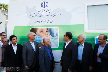 تصاویر اعزام 80 کلینیک سیار دندانپزشکی به مناطق محروم