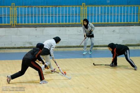 تصاویر مسابقات لیگ برتر هاکی بانوان