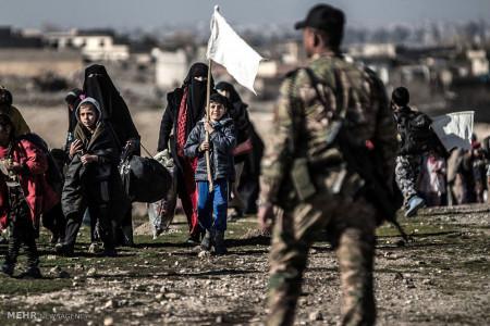 تصاویر آوارگی میلیون ها عراقی بر اثر ظهور داعش