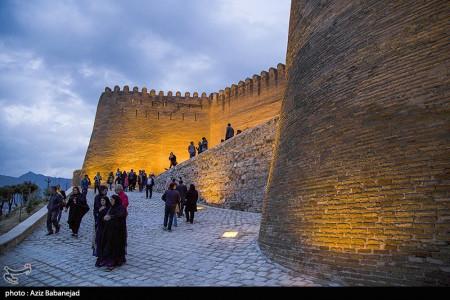 تصاویر قلعه فلک الافلاک نوروز 97