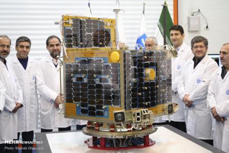 تصاویر ماهواره های ظفر 1 و 2 ساخت ایران