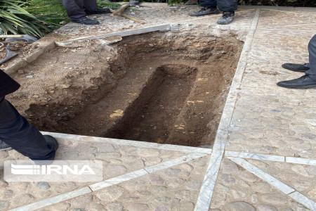 تصاویر محل خاکسپاری استاد شجریان و حضور مردم