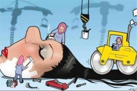 بیش از 60 پیام و شعر، ادبی / طنز برای تبریک روز آرایشگر