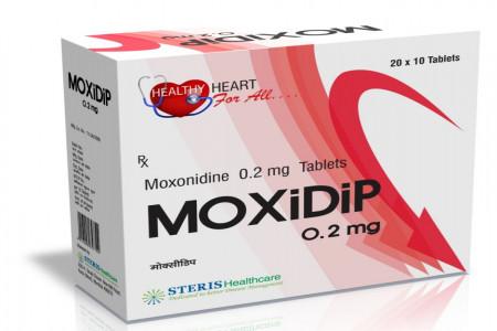 معرفی مزایای درمانی قرص فشارخون موکسونیدین
