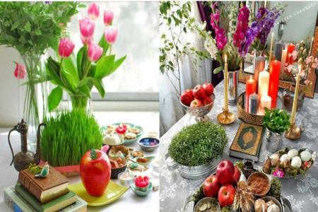 تزیین سبزه عید نوروز با شکلهای متنوع و جدید کمتر دیده شده!
