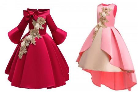 لباس مجلسی دخترانه 2020 بچه گانه در انواع طرح های زیبا و چشم نواز