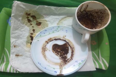 نحوه گرفتن فال قهوه : آموزش مرحله به مرحله گرفتن فال قهوه