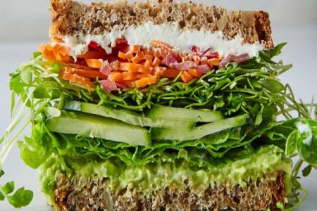 طرز تهیه 7 نوع ساندویچ گیاهی ساده و خوشمزه