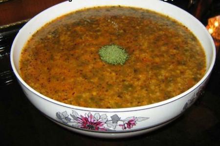 آموزش پخت آش شیله عدس غذای محلی استان آذربایجان شرقی